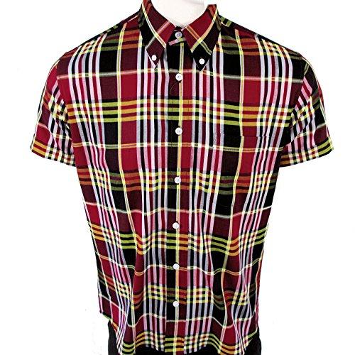 Warrior Vintage Button Down Shirt Jimmy Vintage Muti-check Medium