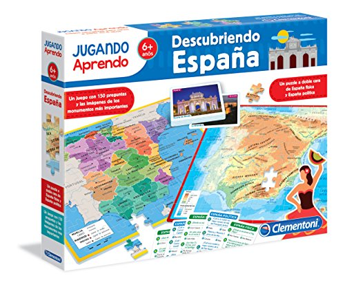 Clementoni - Playing learn, discover Spain (55119.4)