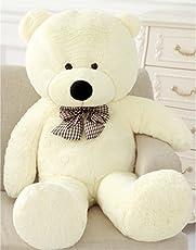 Vercart Schönes Geschenk Plüschbär Riesen Gentleman Plüsch Bär Puppe weiß