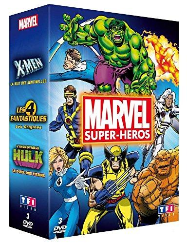 Marvel Super-héros - Coffret [Francia] [DVD]