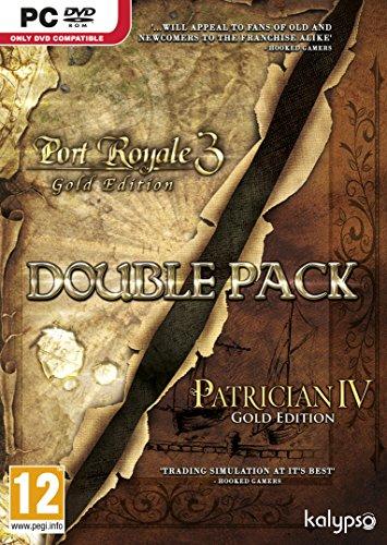 Preisvergleich Produktbild Patrician IV Gold and Port Royale 3 Gold Double Pack (PC DVD) [UK IMPORT]