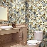 Hongrun Die Badezimmer Sind mit Fliesen Aufkleber Wasserfest Selbstklebend Küche Wohnzimmer Sockelleisten Line Wall Mount Anti-Öl Kreative Schlafzimmer 3D, Aufkleber, H 03,20 cm * 5 M
