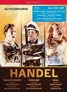 Handel Glyndebourne Box Set [VARIOUS] [Opus Arte: OABD7211BD] [Blu-ray]