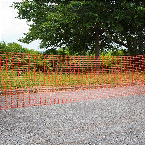 DEMA Schutznetz/Bauzaun 30x1 Meter orange