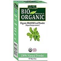 INDUS VALLEY 100% Organic Brahmi Powder for Hair Cleanser & Hair Care - (100g)