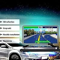 SOEKAVIA Universal Head Up Display,Car Phone GPS HUD Bracket Head Up Display Reflection Projector Phone Holder Mobile Navigation Bracket for iPhone Samsung Huawei Compatible with 6