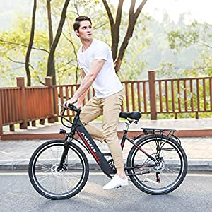 ancheer e bike 26 zoll rahmen 66 cm elektro fahrrad. Black Bedroom Furniture Sets. Home Design Ideas