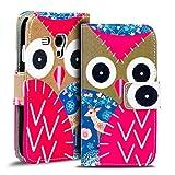 Verco Handyhülle Galaxy S3 Mini Muster, Motiv Hülle für Samsung Galaxy S3 Mini Book Case Flip Cover - Design 17