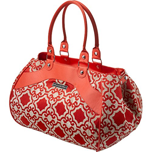 petunia-pickle-bottom-wistful-weekender-diaper-bag-in-persimmon-spice