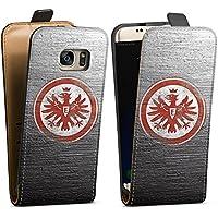 Samsung Galaxy S7 Tasche Hülle Flip Case Eintracht Frankfurt Fanartikel Sge