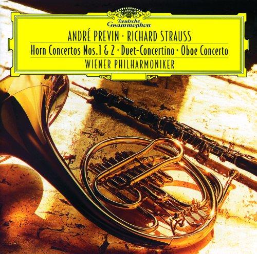 12 Strauß (Strauss, R.: Horn Concertos Nos. 1&2; Duet Concertino; Oboe Concerto)