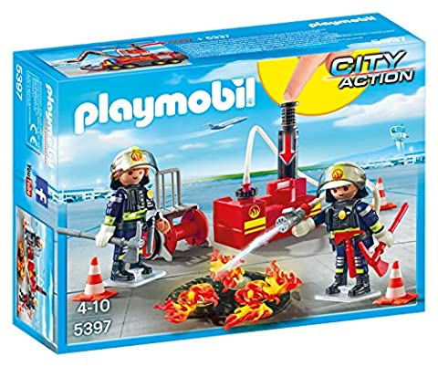 Playmobil 5397 City Action Firefighting Operation with Water