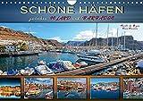Schöne Häfen zwischen Island und Barbados (Wandkalender 2019 DIN A4 quer): Bezaubernde und einzigartige Häfen auf der ganzen Welt (Monatskalender, 14 Seiten ) (CALVENDO Orte) -