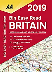 Big Easy Read Britain 2019 SP (AA Road Atlas Britain)