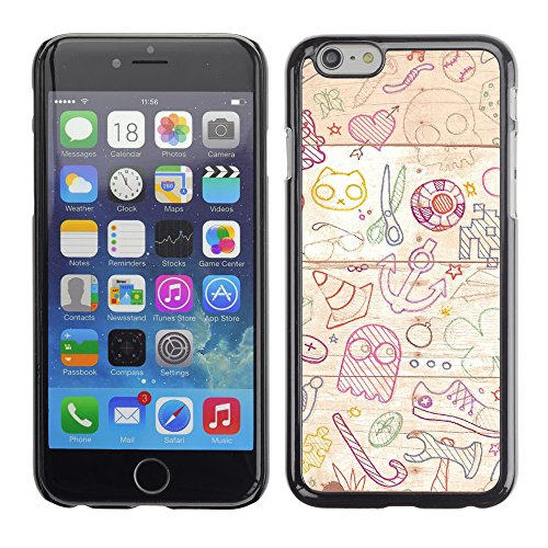 Graphic4You Digital Art Design Harte Hülle Case Tasche Schutzhülle für Apple iPhone 6 / 6S Design #17