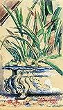 Das Museum Outlet–Blau Blumentopf, 1885–Leinwanddruck Online kaufen (152,4x 203,2cm)