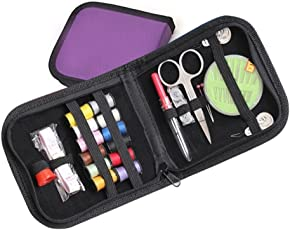Outgeek Multi Function Needle Threads Sewing Tools Case Embroidery Tools Kit Random Color