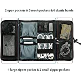 Bulfyss Generic Roll-up Universal Electronics Accessories Hard Drive Case / Cable Organizer