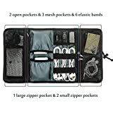 #10: Bulfyss Generic Roll-up Universal Electronics Accessories Hard Drive Case / Cable Organizer
