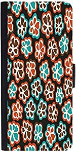 Snoogg Seamless Floral Pattern Flowers Texture Daisy Graphic Snap On Hard Bac...