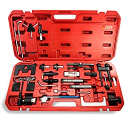 F Fityle Set of 7 Automotive Engine Timing Locking Tool Kit with Case For Chevrolet