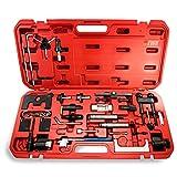 EWK Nockenwellenverriegelung Zahnriemenspanner Zahnriemenwechsel Ersatzwerkzeug für Audi VW Skoda Benzin Diesel Motor
