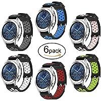 Hagibis Uhren-Armband für Samsung Galaxy Watch 46mm Bands Samsung Gear S3 Frontier oder Samsung Gear S3 Classic