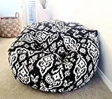 #7: Southampton pattern bean bag xxxl with bean, Provides Ultimate Comfort, Great for Any Room and Office use by Aart