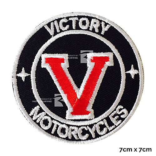 Victory motorcycle the best amazon price in savemoney victory v american victory motorcycle iron sew on embroidered patch by embrologos fandeluxe Images