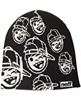 Neff - - Jugend-Repeater Beanie, O/S, Black
