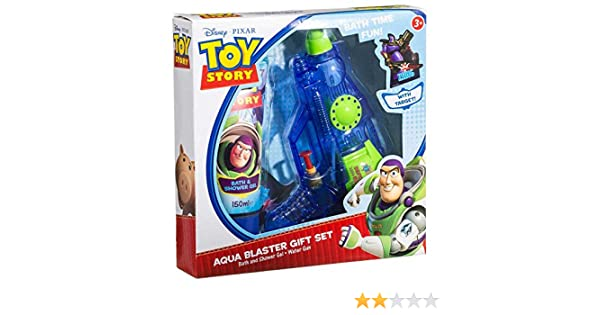 d5c46b14a4869d Toy Story Aqua Blaster Bath   Shower Gel Water Gun   Target Bath Gift Set   Angraves  Amazon.co.uk  Toys   Games