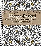 Official Johanna Basford 2017-2018 16-Month Diary