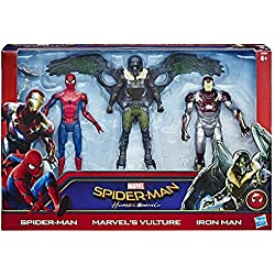 Marvel - Spiderman, pack de 3 figuras Web City de 15 cm (Hasbro C2408EU4)