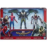 Marvel - Spiderman, Pack de 3 Figuras Web City de 15 cm (Hasbro C2408EU4)