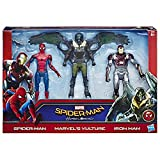 Marvel - Spiderman, Pack de 3 Figuras Web City de 15 cm (Hasbro...