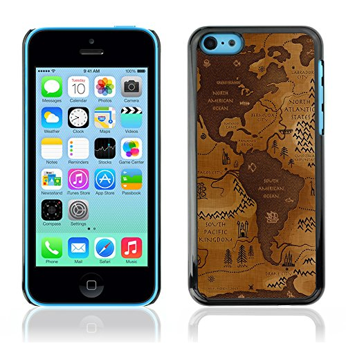 Graphic4You Leaves Falling From Tree Autumn Theme Design Harte Hülle Case Tasche Schutzhülle für Apple iPhone 5C Design #6
