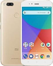 """Xiaomi Mi A1 Smartphone 5.5"""" FHD, Memoria da 64 GB, 4GB RAM, Octa-core Snapdragon 625 2Ghz, 12MP Dual camera, Colore: Oro"""