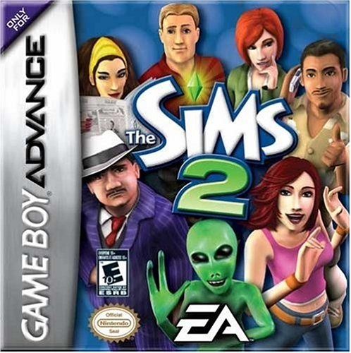 Sims Boy Game (The Sims 2 by Electronic Arts)