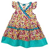 Bella Moda Girls' Cotton A-Line Frock (A...