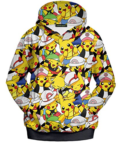 Belsen Damen Kapuzenpullover Gr. Medium, Pokemon