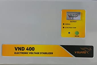 V-Guard VND400 Voltage Stabilizer for 1.5 Ton AC (150V-290V)