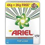 Ariel Matic Top Load Detergent Washing Powder - 4 kg with Free Detergent Powder - 2 kg - Pantry