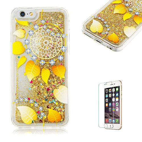 custodia-per-iphone-6-iphone-6s-cover-in-silicone-morbidafunyye-brillantini-muovono-liquida-sequin-g