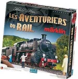 Asmodée - AVE03 - Jeu de stratégie - Les Aventuriers du rail Marklin