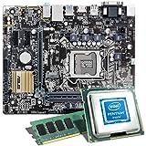 Intel Pentium G4560 / ASUS H110M-A/M.2 / 8GB Mainboard Bundle | CSL PC Aufrüstkit | Intel Pentium G4560 2x 3500 MHz, 8GB RAM, Intel HD Graphics 610, GigLAN, 7.1 Sound, USB 3.1 | PC Tuning Kit
