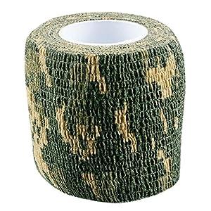 Bande Tissu Adhesif Camo Digital Woodland 4.5 M X 5 Cm Fosco 469351 Dig Accessoire Camouflage Airsoft