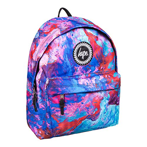 Hype Hombre Elegance Logo Backpack, Azul, One Size