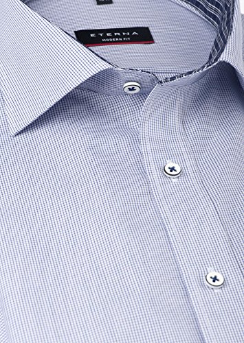 eterna -  Camicia classiche  - Uomo Blu