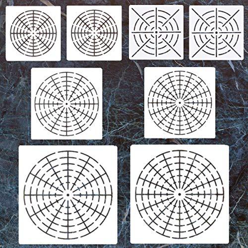LORDWEY Rock Malstift, Punktpunktwerkzeuge für Mandala-Steinmalerei, Malen, Zeichnen und Zeichnen, für Kinder, Nagelkunst, Malerei 8 Pcs