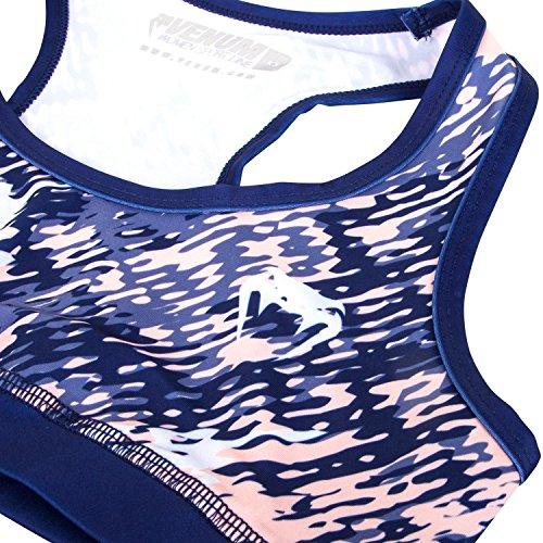 Venum Neo Camo Brassière Femme Bleu Marine/Corail
